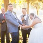 Wedding Officiant I Do Ceremonies and couple laughing