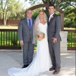Bride Groom and Austin Wedding Officiant Stephen Simmons