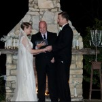 Pecan Springs Ranch Wedding Venue Unity Ceremony