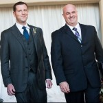 Austin Officiant and Groom