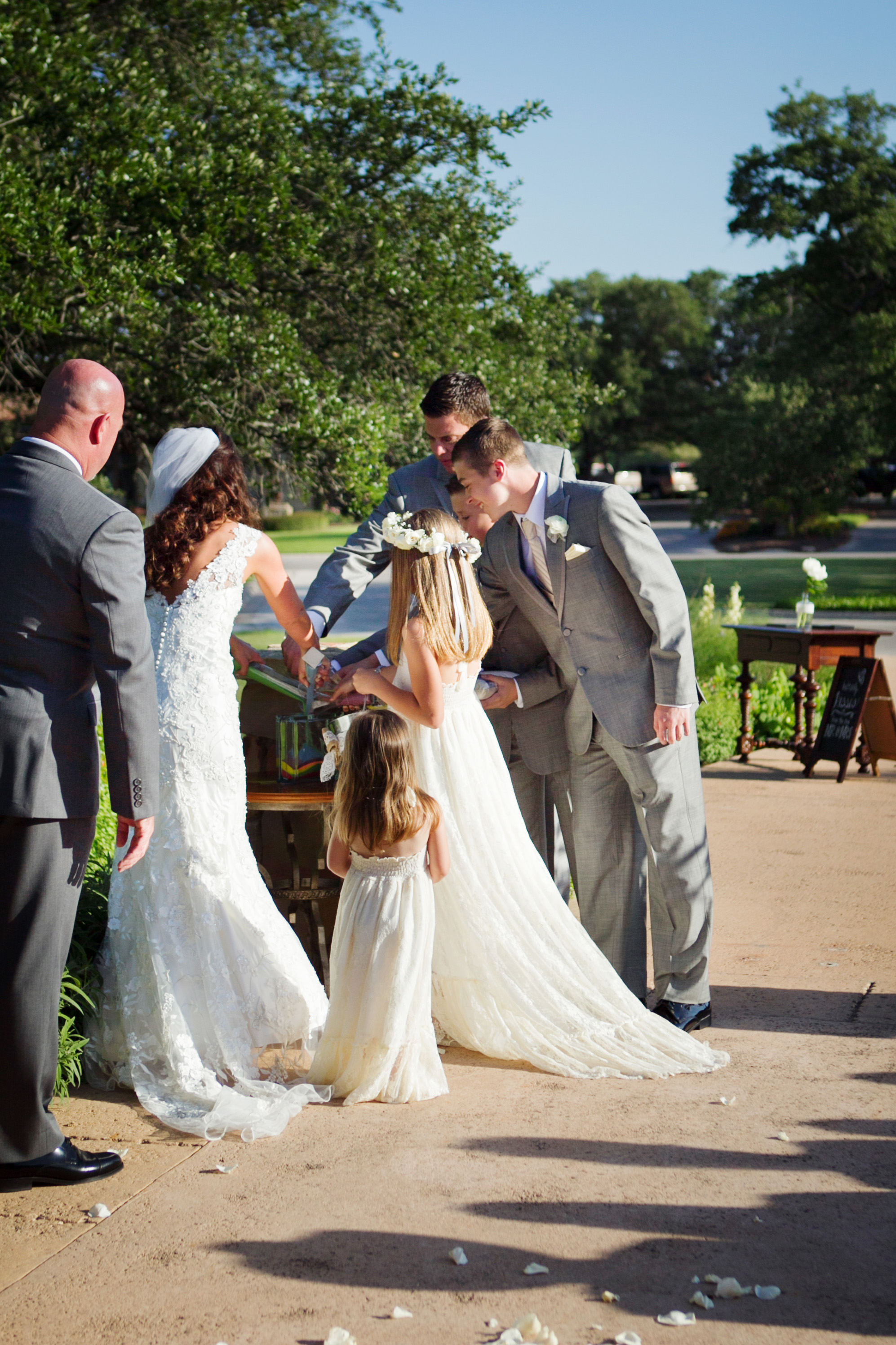 As You Now Combine Your Sand Together All Lives From This Moment Will Become One Family Ceremony Austin Wedding