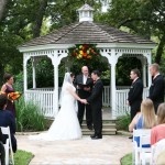 Chateau on the Creek Round Rock wedding ceremony