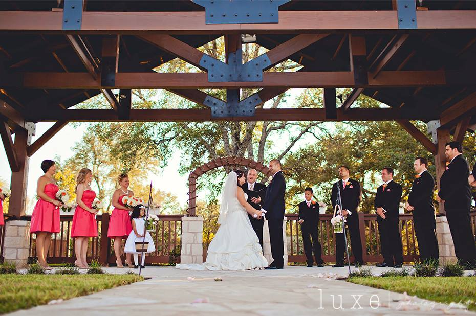 Gabriel Springs Wedding Venue Georgetown Texas