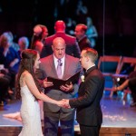Review of Austin officiant, by bride and groom at One World Theater