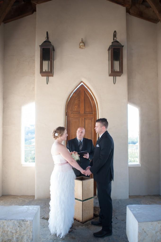 Wedding in Austin at Chapel Dulcinea