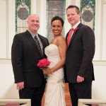 Georgetown Wedding Officiant and couple
