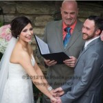Chateau Bellevue Austin wedding officiant and couple