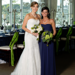 Austin Wedding Bride and Bridesmaid