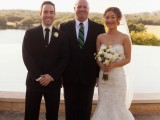 Austin Minister and bride and groom