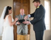 Chapel Dulcinea Austin Wedding Officiant and couple