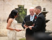 Wedding Officiant at Vista on Seward Hill