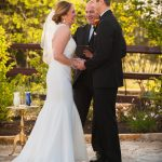 Happy Bride Groom and Austin Officiant