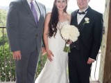 Austin Wedding Minister and couple