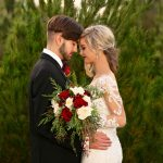 Bride and Groom December Wedding